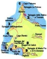 Cartina Sardegna Zona Alghero.Da Stintino Ad Alghero Isola Di Sardegna
